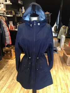 Chichi Boutique, UK, Camilla Mørch Raincoat Grebbestad Blue Ocean