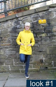 Sunday Best, Great Britian, Camilla Mørch Raincoat model Grebbestad colour Yellow Lemon